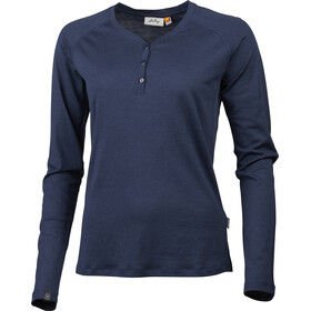 Lundhags Gimmer Merino Light Henley Women deep blue